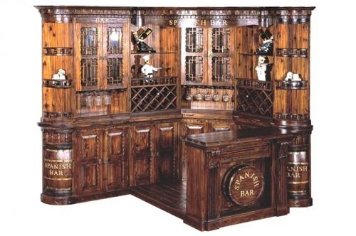防腐木酒柜
